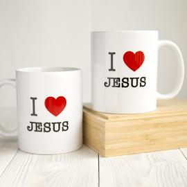 Кружка «I love Jesus» (сердце)